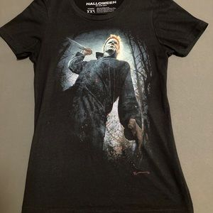 NWOT Fright Rags Halloween Michael Myers T-Shirt